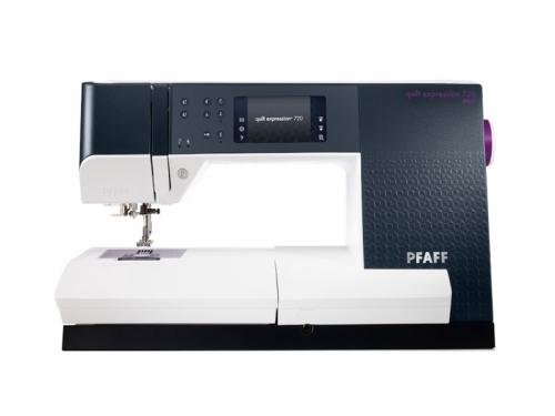 PFAFF - quilt expression™ 720 inkl. Expression Line Box gratis
