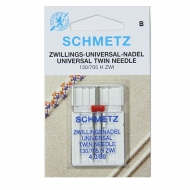 Schmetz Maschinennadeln - Universal-Zwillings-Nadel