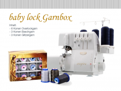 Baby Lock - enspire + Garnbox GRATIS!
