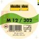 Vlieseline M12 25m Rolle