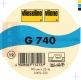 Vlieseline G740 25m Rolle